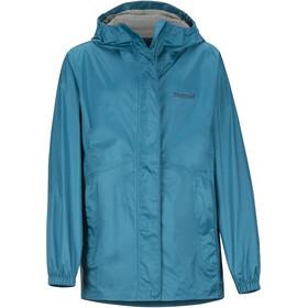 Marmot PreCip Plus Chaqueta Niñas, azul